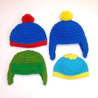 South Park Hat Beanie Eric Cartman, Stan Marsh, Craig Tucker, Kyle Broflovski