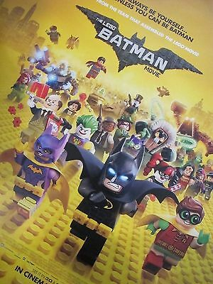 Lego Batman Movie - one sheet movie poster