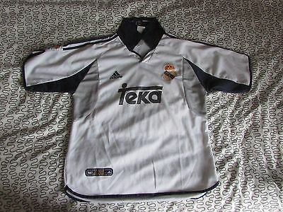 Maillot Real Madrid 2000 / 2001 ZIDANE Taille M