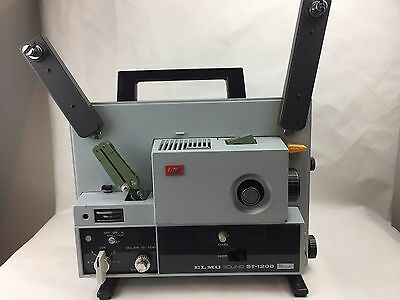 Elmo - Sound - ST-1200 - Super 8 - Projector - With Case and Extras -