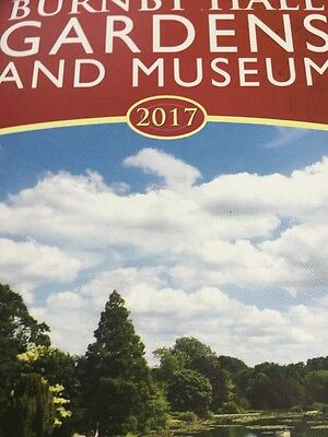 The Stewart's Burnby hall Gardens And  Museum Trust Day Pass Family Ticket York