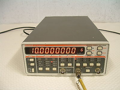 RACAL-DANA 2202R 1.3 GHz. COUNTER / REFERENCE STANDARD FREQUENCY SOURCE