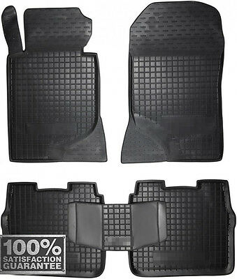 Rubber Carmats for Mercedes W124 1984-1996 All Weather Floor Mats Fully Tailored