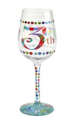 Here's To You 30th Glass (Kali Stileman) Birthday Wine Gift Party Novelty Fun