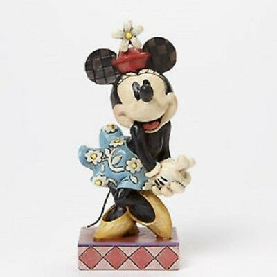 Jim Shore Perfect Sweetheart - Minnie Mouse Figurine Disney Traditions