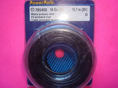 16 Gauge 35 ft PRIMARY POWER GROUND COPPER STRANDED WIRE FEDERAL MOGUL MADE USA