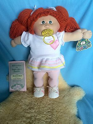 Cabbage Patch Vintage Coleco Paci Girl Mint Condition Original Outfit!