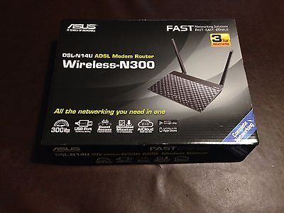 MODEM ASUS. Wireless-N300 ADSL Modem Router