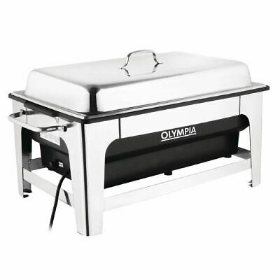 Olympia Electric Chafing Dish - Capacity - 13.5Ltr 362(H) x 638(W) x 347(D)mm