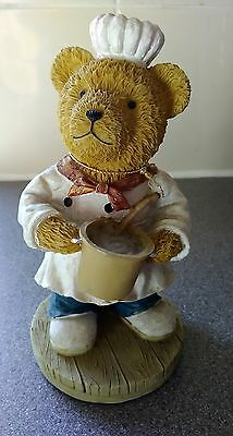 Regency Fine Arts Bear Chef. New with tag. Unboxed