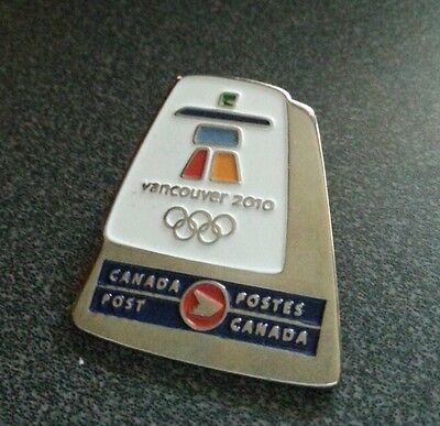 Vancouver 2010 Olympic Canada Post pin