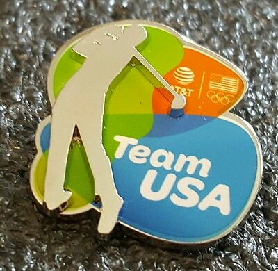 2016 Rio Olympic *TEAM USA  GOLF *3 D PIN