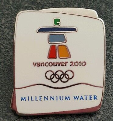 2010 Olympic Vancouver MILLENNIUM WATER * OLYMPIC VILLAGE CONDOS pin