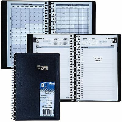 2018 Brownline C2504.81T Daily Planner Appointment Book, 8 x 5""