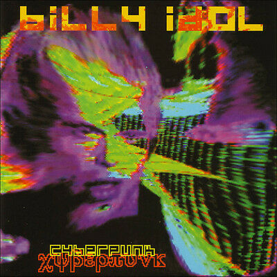 MUSICASSETTA billy idol cyberpunk rar  NUOVO D'EPOCA IMBALLATA mc
