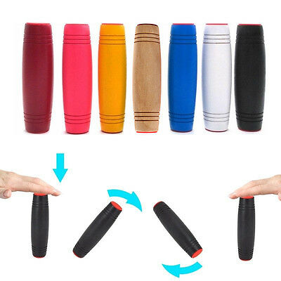 Stress Anxiety Relief Focus Attention Flip Trick Roll Fidget Roller Stick Toy cn