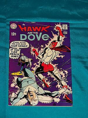 The HAWK & The DOVE # 6, July 1969, Story & Art By GIL KANE & WALLY WOOD, F-VF