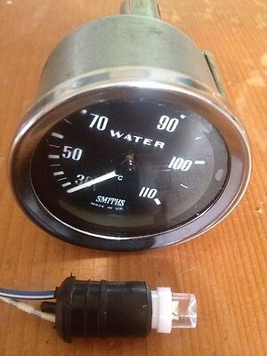 Classic Chrome Smiths Water Temp Temperature Gauge Mini Kit Jaguar Triumph #h16