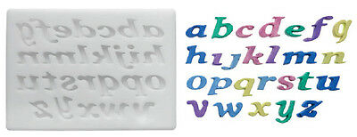 Silikomart Silicone Mould - Letters - Lower Case