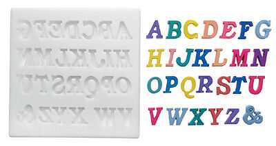 Silikomart Silicone Mould - Letters - Upper Case