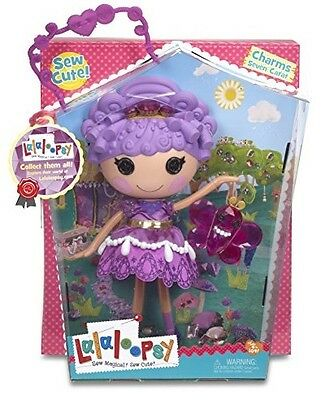Lalaloopsy Doll - Charms Seven Carat - Full Size Doll With Pet - New In Box