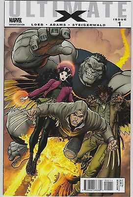 Ultimate X #1 Variant B 1st Jimmy Hudson Wolverines Son