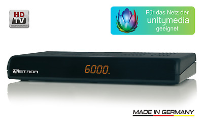 Vistron VT 250-1 Digitaler HDTV Kabelreceiver HDMI USB PVR-READY Unitymedia