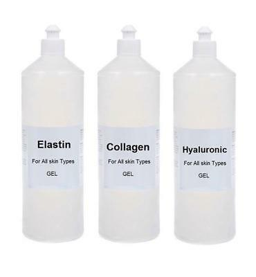 100% Pure Hyaluronic Acid Collagen Elastin Anti Aging Anti Wrinkle Skincare Set