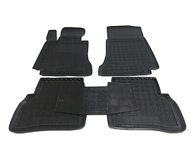 Rubber Carmats for Mercedes C-class W205 2014- All Weather Floor Tailored Mats
