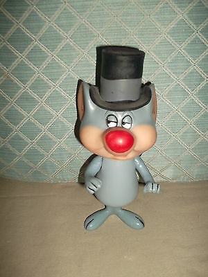 """1970 Warner Bros Cartoon Character Merlin the Magic Mouse  8"""" Plastic jointed"""