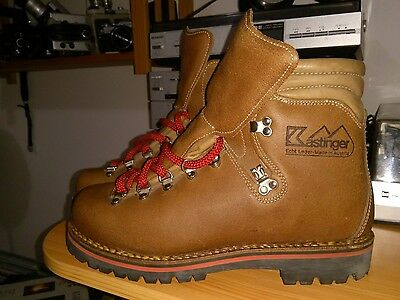 1980' Brand New Kastinger Professional Climbing Boots Size 44 Made In Austria