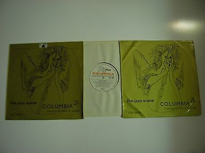 "The Jazz Scene Clef Series 2 x 10"" LP's Columbia 9007 & 9008 Original UK Mono"
