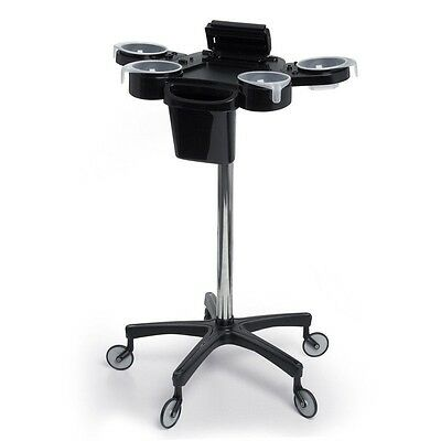 Aphrodite Colour Trolley Salon Equipment Black
