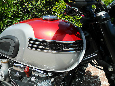2016 Triumph Bonneville T120 Red