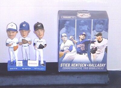 Stieb Hentgen & Halladay Bobblehead - Blue Jays Stadium Give Away  Ltd Edition