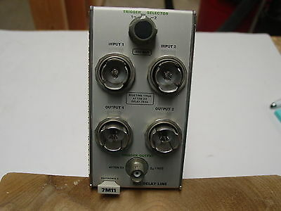 TEKTRONIX 7M11 DELAY LINE for 7000 series oscilloscope (G)