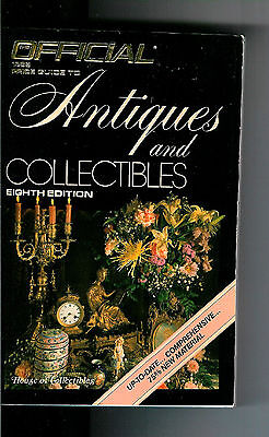 OFFICIAL PRICE GUIDE TO ANTIQUES & COLLECTIBLES - HOUSE OF COLLECTIBLES 8th ED