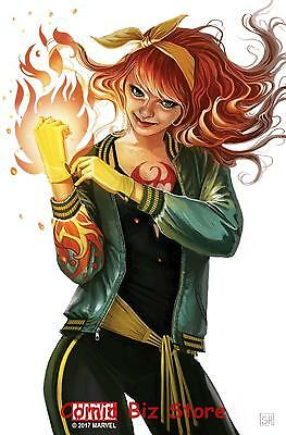 Iron Fist #4 (2017) Hans Mary Jane Variant Cover Bagged & Boarded