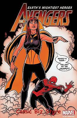 Avengers #8 (2017) Allred Mary Jane Variant Cover Bagged & Boarded