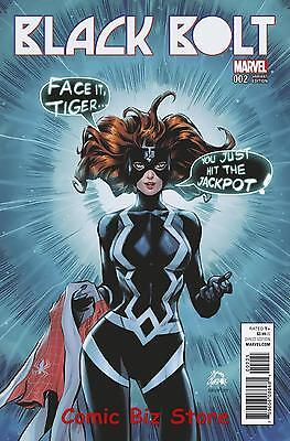 Black Bolt #2 (2017) Stegman Mary Jane Variant Cover Bagged & Boarded