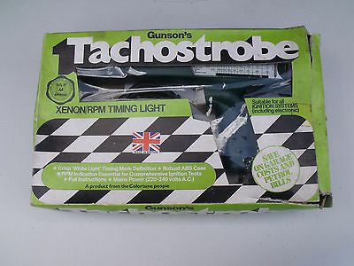 Gunson's Gunsons Xenon Tachostrobe Timing Light Classic Car Van Garage