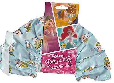 DISNEY PRINCESS CINDERELLA SHOWER CAP...... (Shower in Style.........!)