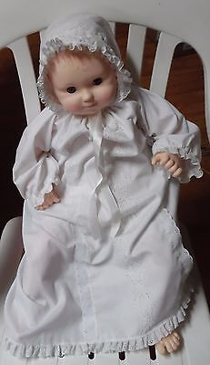 "1983 25"" Effanbee Mama's Baby Vinyl/cloth body baby doll #9983 Original Clothes"