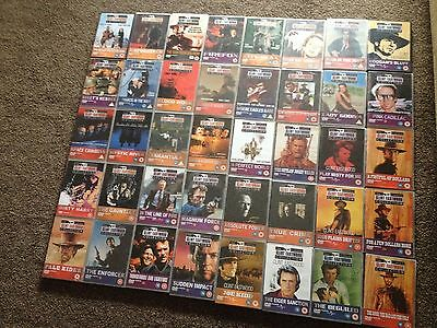 40 x Clint Eastwood DVDs  The Classic Collection  Joblot