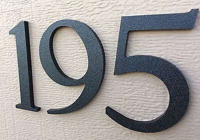 4 inch Magnetic Traditional House Numbers or Letters; color choices