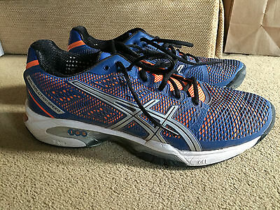 Asics Gel Solution Speed 2 tennis shoes - used/excellent condition