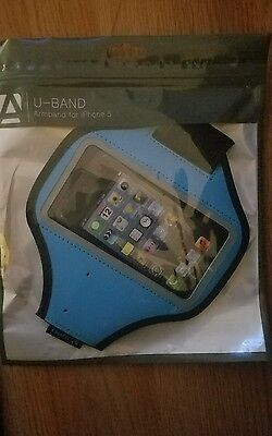 New U-Band Armband for iPhone 5 (blue)