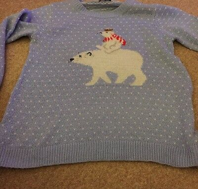 Women's Maternity Christmas Jumper Size 18. New Look.