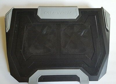 CM Storm SF-19 - Large Gaming Laptop Cooling Pad with Dual 140 mm Turbine Fans,