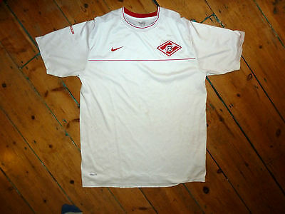 SPARTAK MOSCOW FOOTBALL SHIRT (XL) Away football jersey trikot camiesta maglia